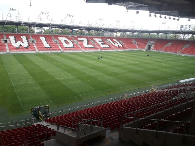 Stadium in Lodz - Host of the opening match and the final match